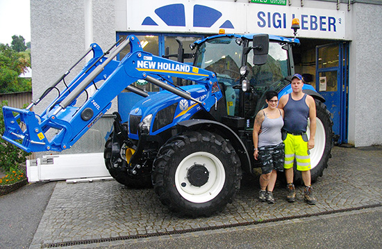 Neuer NewHolland T5.95